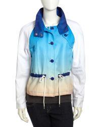 Rebecca Minkoff Brooke Drawstring Waist Jacket - Lyst