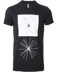 Silent - Damir Doma - Printed T-Shirt - Lyst