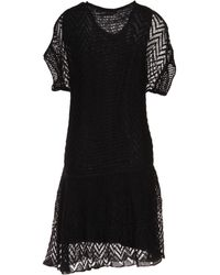 Thakoon Addition Black Kneelength Dress - Lyst