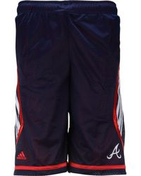Adidas Boys Atlanta Braves Shorts - Lyst