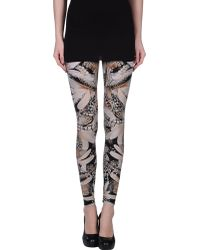 Alexander McQueen Multicolor Leggings - Lyst
