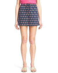 Diane von Furstenberg | 'kyle' Floral Print Shorts | Lyst
