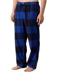 Polo Ralph Lauren Buffalo Check Flannel Pajama Pants - Lyst