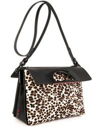 Christian Louboutin Passage Calfhair Messenger Bag - Lyst