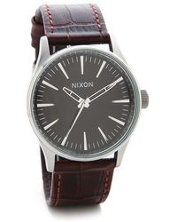 Nixon Sentry 38 Watch - Lyst