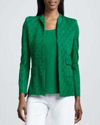 Misook Lilly Textured Jacket - Lyst