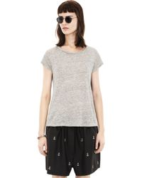 Acne Copy Linen Grey Melange - Lyst