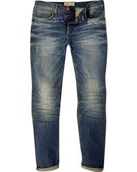 River Island Mid Wash Sid Skinny Stretch Jeans - Lyst