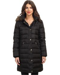 Michael by Michael Kors Down Walker W Detachable Hood - Lyst