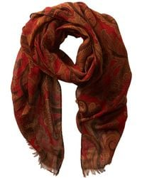 Lauren by Ralph Lauren Red Gina Scarf - Lyst
