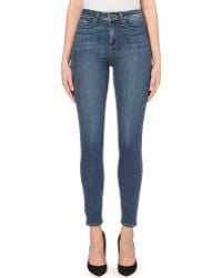 Paige Stretch-Denim Ultra Skinny Jeans - For Women - Lyst