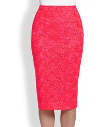 A.L.C. Towner Lace Pencil Skirt - Lyst