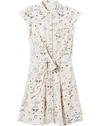 Rebecca Taylor Astro Print Shirtdress - Lyst
