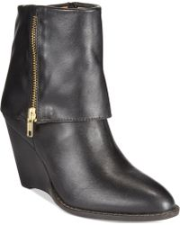 Corso Como - Scarsdale Wedge Booties - Lyst