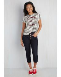 Judy Blue | Karaoke Songstress Jeans In Capri Length | Lyst