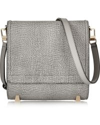 Alexander Wang - Chastity Lizardeffect Leather Shoulder Bag - Lyst