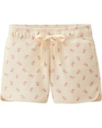 Uniqlo Women Lounge Shorts Flower - Lyst