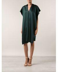 Maison Rabih Kayrouz Draped Dress - Lyst