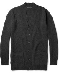 Burberry Prorsum Wool And Cashmere-Blend Cardigan - Lyst