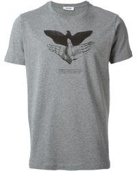 Moschino Freedom Print T-shirt - Lyst