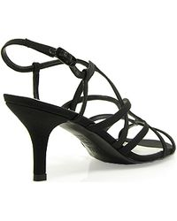 Stuart Weitzman Turningup Strappy Evening Sandal - Lyst
