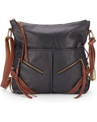 Lucky Brand - Delta Leather Crossbody Hobo Bag - Lyst