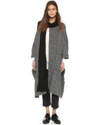 Thakoon Addition - Pullover Cape - Charcoal - Lyst