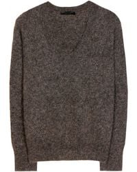 The Row Thea Mohair-Blend Sweater - Lyst