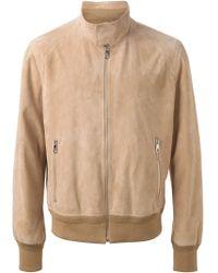 Neil Barrett Classic Harrington Jacket - Lyst