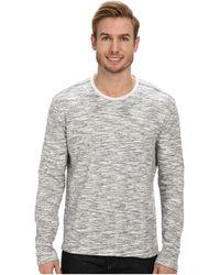 Calvin Klein Jeans Long Sleeve Duofold Crew - Lyst