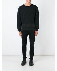 General Idea - Contrast Panel Sweatshirt - Lyst