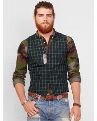 Denim & Supply Ralph Lauren Plaid Bruce Vest - Lyst