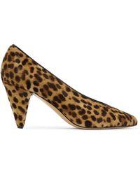 Étoile Isabel Marant - Pawson Leopard-print Calf Hair Pumps - Lyst