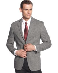 Calvin Klein Donegal Tweed Slim-fit Sport Coat - Lyst