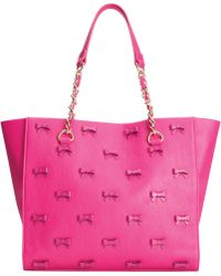 Betsey Johnson Little Bow Chic Tote - Lyst