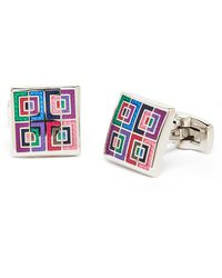 Duchamp Multicolor Tripudation Cuff Links - Lyst