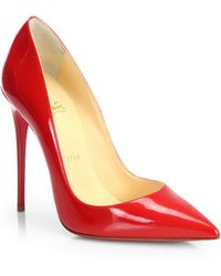 Christian Louboutin So Kate Patent Leather Pumps - Lyst
