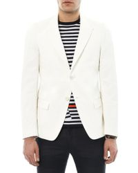 Jil Sander Camilla Cotton and Linenblend Blazer - Lyst