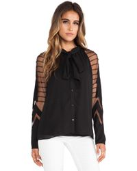 Alice By Temperley Angelina Blouse - Lyst