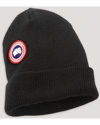 Canada Goose Merino Wool Cap - Lyst