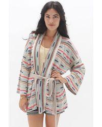 Goddis Delano Belted Kimono - Lyst