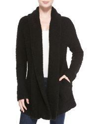 Joie Solome Shawl-collar Boucle Jacket - Lyst