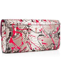 Christian Louboutin Riviera Clutch - Lyst