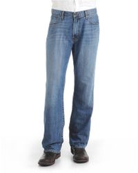 Lucky Brand - 181 Relaxed Straight Light Cardiff Wash Jeans - Lyst
