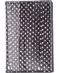 Alexander McQueen Black Document Holder - Lyst