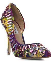 Steve Madden Galactik Embellished Semi D'Orsay Court Shoes - For Women - Lyst