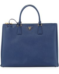Prada Saffiano Large Executive Tote Bag - Lyst
