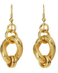 1AR By Unoaerre - Gold-Plated Earrings - Lyst