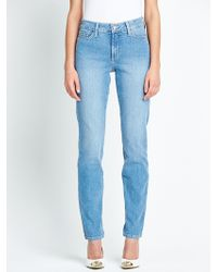 Not Your Daughter's Jeans Straight Leg Embellished Pocket Jeans - Lyst