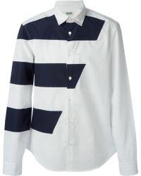 Kenzo Panelled Shirt - Lyst